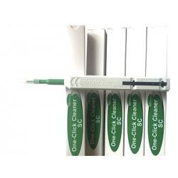 Limpiador tipo pluma de un solo click de 2.5mm para conectores tipo SC/ST y FC.