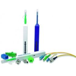 Limpiador tipo pluma de un solo click de 1.25 mm para conectores tipo LC y MU.