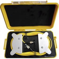 Bobina de lanzamiento SM para OTDR, 1,000mts de longitud con conectores ST/ST pulido UPC.