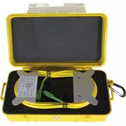Bobina de lanzamiento SM para OTDR, 1,000mts de longitud con conectores SC/SC pulido APC.