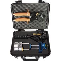 Kit de herramientas universal para preparar puntas de cables XLP o XLPE.