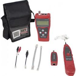 Probador de Cables de Red, Telefónicos, Usb y Coaxiales